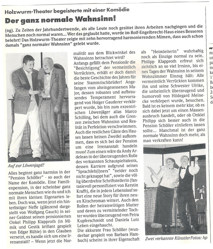 Pension Schöller Presse 1